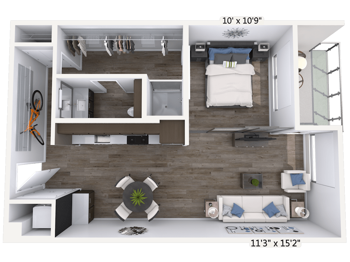 3D Floor Plan Image