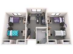 3d Floor Plans For Student Housing