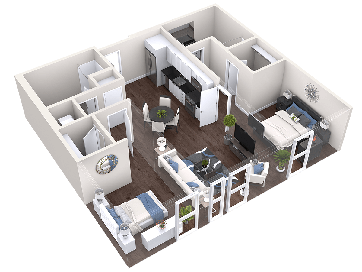 2D, 3D, 2DH, and More Floor Plan Products